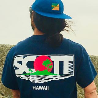DESCENDANT LAVA TEE SCOTT HAWAII NAVY M