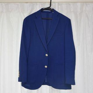 美品! ヒルトン x リングヂャケット 春夏用 メンズ ジャケット  青色/S(テーラードジャケット)