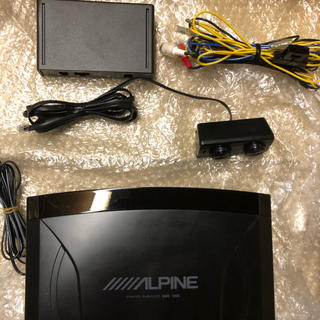 アルパイン ALPINE SWE-1200 20cmパワードサブウーファー(カーオーディオ)