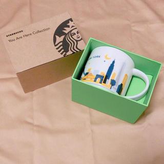 スターバックスコーヒー(Starbucks Coffee)の【未使用】スターバックス マグカップ ニューヨーク限定(グラス/カップ)