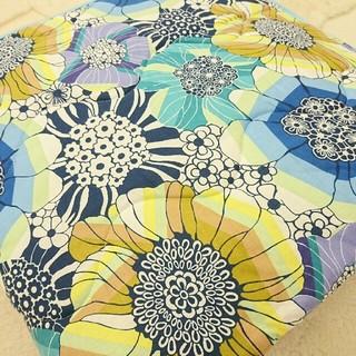 ミッソーニ(MISSONI)のHARRY様専用日本製 ミッソーニ 昭和西川 麻混肌掛けふとん ブルー3枚セット(毛布)