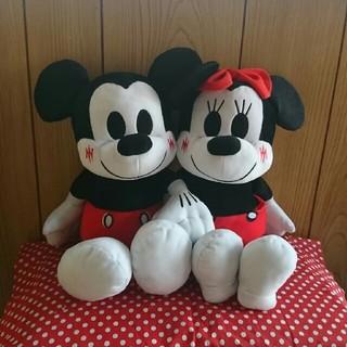 ディズニー(Disney)のミッキー&ミニーLoveLoveシリーズ(ぬいぐるみ)