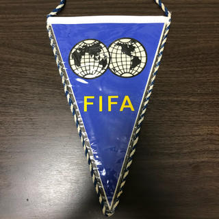 FIFA ワールドカップ 記念ペナント サッカー ヴィンテージ(記念品/関連グッズ)