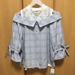 INGNI - ♡INGNI♡今季 チェックオフショルシャツ♡DaTuRa RESEXXY