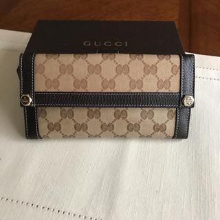 グッチ(Gucci)のGUCCI 長財布  未使用  超美品(財布)