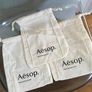 イソップ(Aesop)のイソップ  巾着袋(ショップ袋)