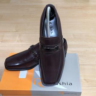 リーガル(REGAL)の未使用新品リーガル ローファー革靴REGAL メンズ 本革 24.5 Y401(ドレス/ビジネス)