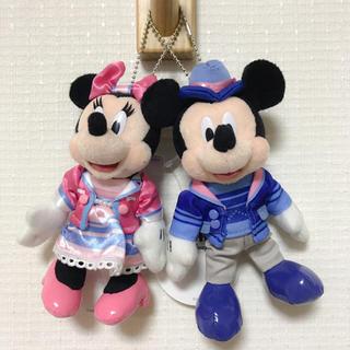 ディズニー(Disney)のミキミニ ぬいぐるみバッジ(ぬいぐるみ)