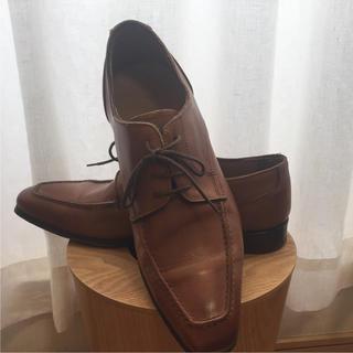 リーガル(REGAL)のイタリア BENTER メンズ 革靴 ビジネス シューズ 25cm ブラウン(ドレス/ビジネス)