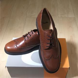 リーガル(REGAL)の極美品 海外限定 クラークス メンズ ビジネス 革靴 約27cm(ドレス/ビジネス)