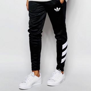 Adidas Originals Skinny Joggers Black S(チノパン)