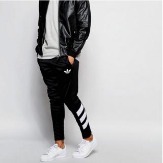 Adidas Originals Skinny Joggers Black M(チノパン)