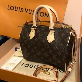 ルイヴィトン(LOUIS VUITTON)の新品[Louis Vuitton] スピーディ バンドリエール25 ハンドバック(ボストンバッグ)