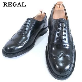 リーガル(REGAL)の【超美品】リーガル ウィングチップ 24.0cmEE(ドレス/ビジネス)
