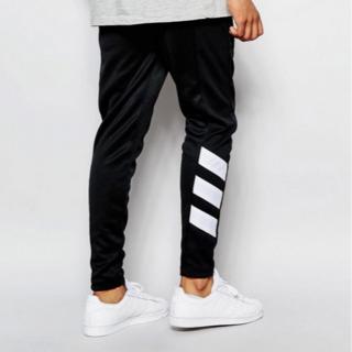 Adidas Originals Skinny Joggers Black L(チノパン)