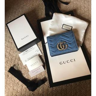 グッチ(Gucci)のGUCCI デニム財布(財布)