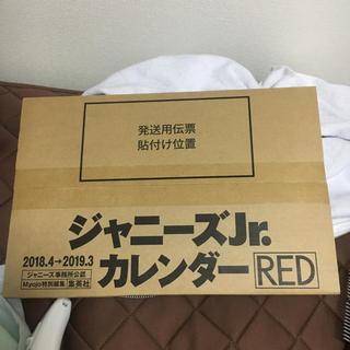 ジャニーズJr.カレンダー RED(アイドルグッズ)