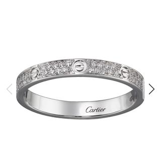 カルティエ(Cartier)のカルティエ、リング、ダイヤ(リング(指輪))