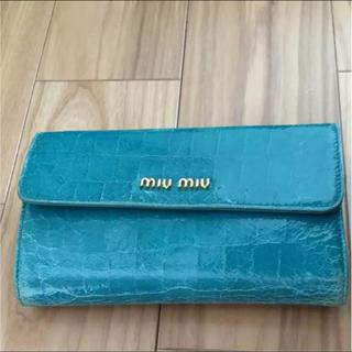 ミュウミュウ(miumiu)のmiumiu がま口財布(財布)