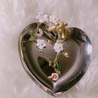 レネレイド(Les Nereides)の花 ブレスレット(ブレスレット/バングル)