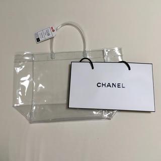 シャネル(CHANEL)のクリアバック with CHANEL(ショップ袋)