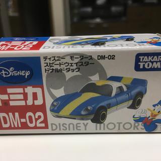 ディズニー(Disney)のディズニーモータース DM-02 スピードウェイスター ドナルドダック(ミニカー)