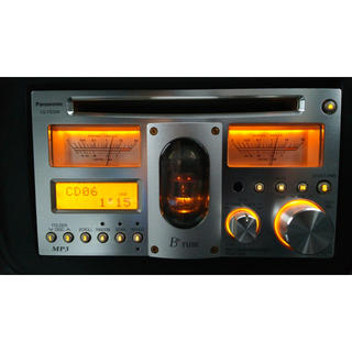 パナソニック(Panasonic)のCQ-TX5500 真空管 Panasonic(カーオーディオ)