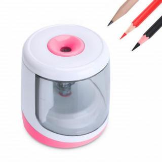 電動鉛筆削り ピンク 削りすぎ防止 えんぴつ削り 新品(その他)