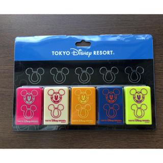 ディズニー(Disney)のディズニーリゾート ミッキー ケース付きクリップセット(その他)