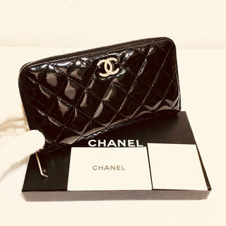 シャネル(CHANEL)の302❤️超美品❤️新型❤️シャネル❤️ジップ 長財布❤️正規品鑑定済み❤️(財布)
