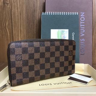 ルイヴィトン(LOUIS VUITTON)の極美品❤保証書付き❤ダミエ❤オーガナイザー❤ルイヴィトン❤v850(財布)