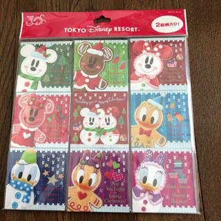 ディズニー(Disney)のディズニーリゾート 30周年 クリスマスふせんセット(ノート/メモ帳/ふせん)