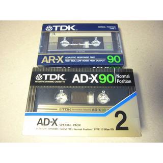 TDK ヴィンテージカセットテープ AR-X90 AD-X90×2 3本セット (ラジオ)