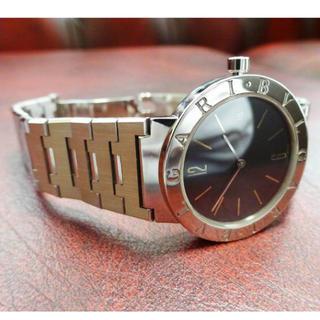 ブルガリ(BVLGARI)の新品同様! 定価50万円 BVLGARI ブルガリ BB33SS メンズ 腕時計(腕時計(アナログ))