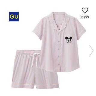 ジーユー(GU)のGU gu ジーユー パジャマ 半袖 ショートパンツ ディズニー 完売 ミッキー(パジャマ)