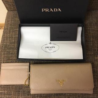 プラダ(PRADA)のPrada サフィアーノ 長財布(長財布)