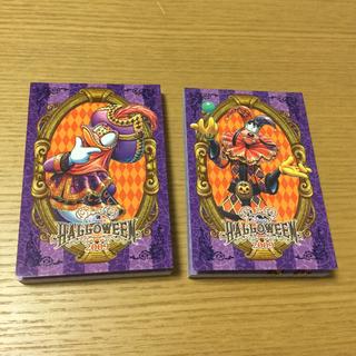 ディズニー(Disney)の23番 東京ディズニーシー ハロウィン メモ帳(ノート/メモ帳/ふせん)