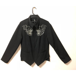 ヨウジヤマモト(Yohji Yamamoto)のりん様専用 ヨウジヤマモト Ground Y 刺繍ジャケット(テーラードジャケット)