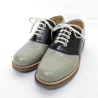 リーガル(REGAL)の美品 REGAL リーガル 2452 サドルシューズ ブーツ 23cm(ローファー/革靴)