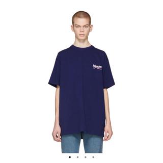 バレンシアガ(Balenciaga)のBALENCIAGA キャンペーンロゴTシャツ Mサイズ(Tシャツ/カットソー(半袖/袖なし))