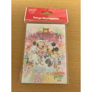 ディズニー(Disney)の24番 東京ディズニーランド クリスマス メモ帳(ノート/メモ帳/ふせん)