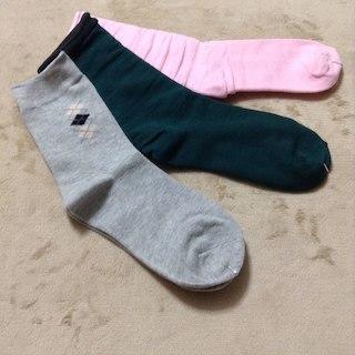 クルーソックス 靴下 3足セット ポイント消化(その他)