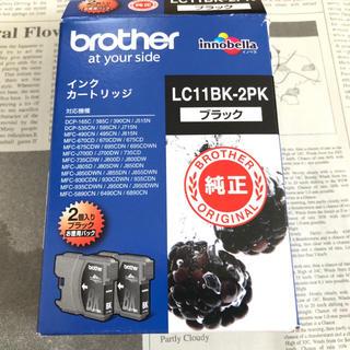 ブラザー(brother)の【brother】BK インクカートリッジ(PC周辺機器)