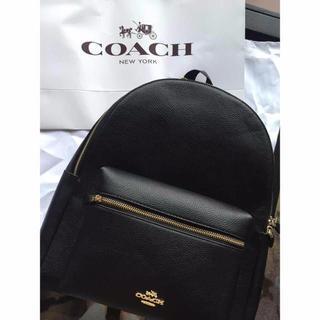 コーチ(COACH)のCOACHリュック ブラック(リュック/バックパック)