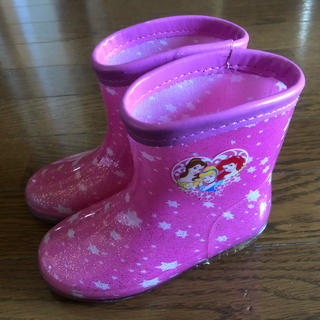 ディズニー(Disney)のkids プリンセス長靴 16センチ(長靴/レインシューズ)