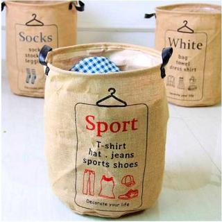 洗濯物入れ ランドリーボックス sport(バスケット/かご)