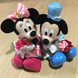 ディズニー(Disney)のミッキーミニー ぬいぐるみ(ぬいぐるみ)