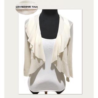 ヴィヴィアンタム(VIVIENNE TAM)のVIVIENNE TAM 夏の羽織もの 薄手ナイロンニット(ボレロ)