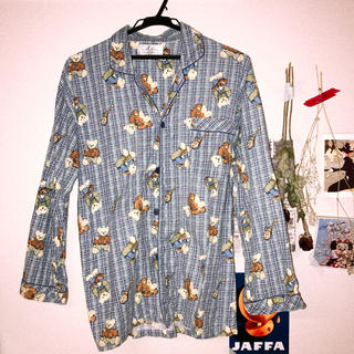 サンタモニカ(Santa Monica)の古着 パジャマシャツ used(シャツ/ブラウス(長袖/七分))