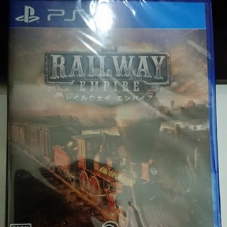 プレイステーション4(PlayStation4)の新品未開封美品☆レイルウェイ エンパイア☆(家庭用ゲームソフト)